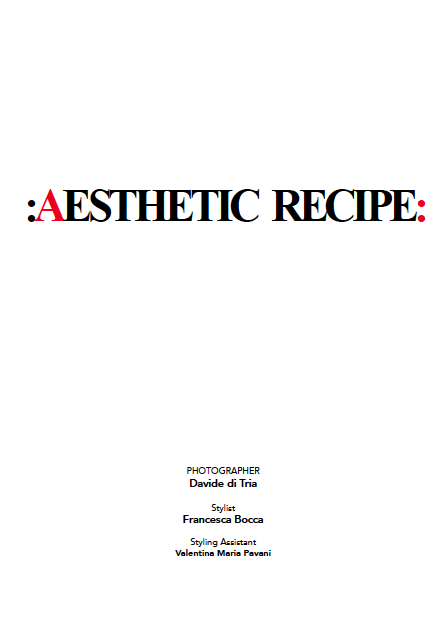 AESTHETIC RECIPE